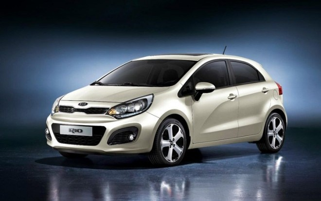 2012 Kia Rio Front Three Quarter View1 660x413