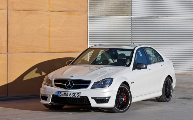 2012 Mercedes Benz C63 AMG Front Three Quarters1 660x413