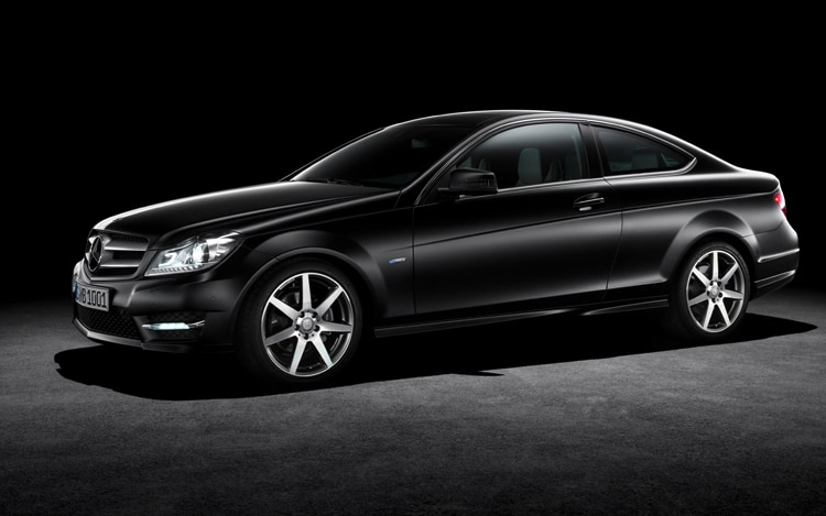 2012 Mercedes Benz C Class Coupe Side1