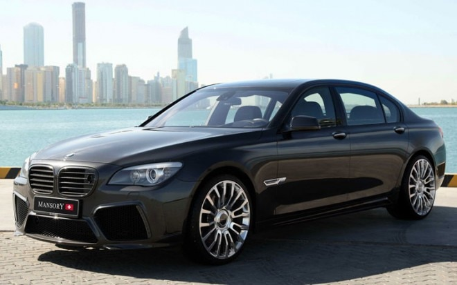 Mansory BMW 7 Series Front Three Quarters1 660x413
