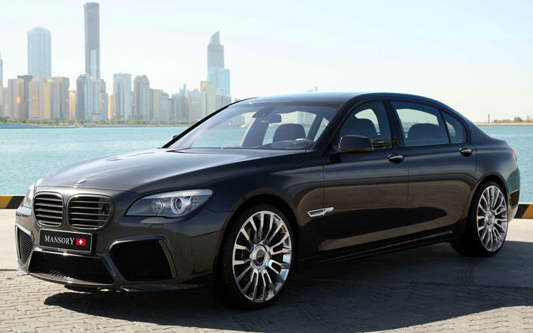 Mansory BMW 7 Series Front Three Quarters1