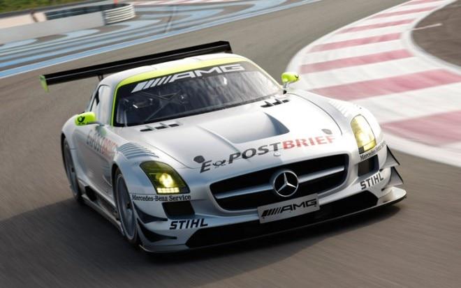 Mercedes Benz SLS AMG GT3 Front1 660x413