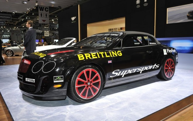 Bentley Supersports Ice Speed Record Edition Front Three Quarter 660x413