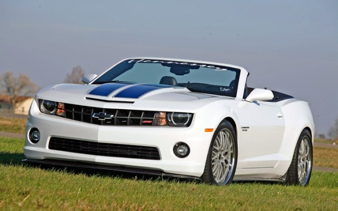Hennessey Hpe600 Camaro Convertible Front Three Quarter1 660x413