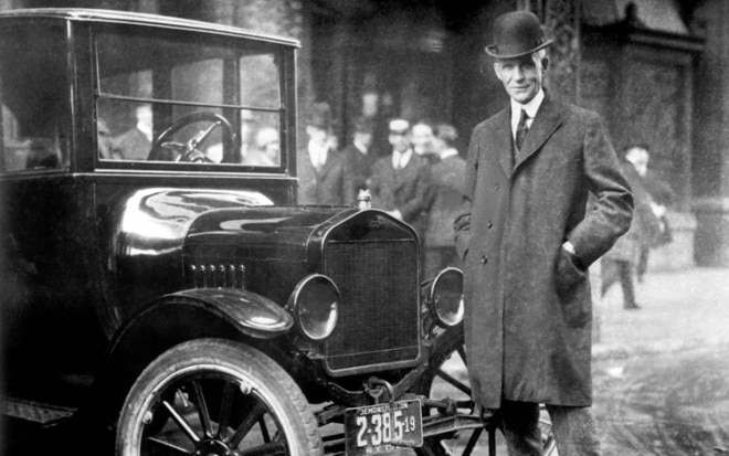 Henry Ford With Model T 660x413