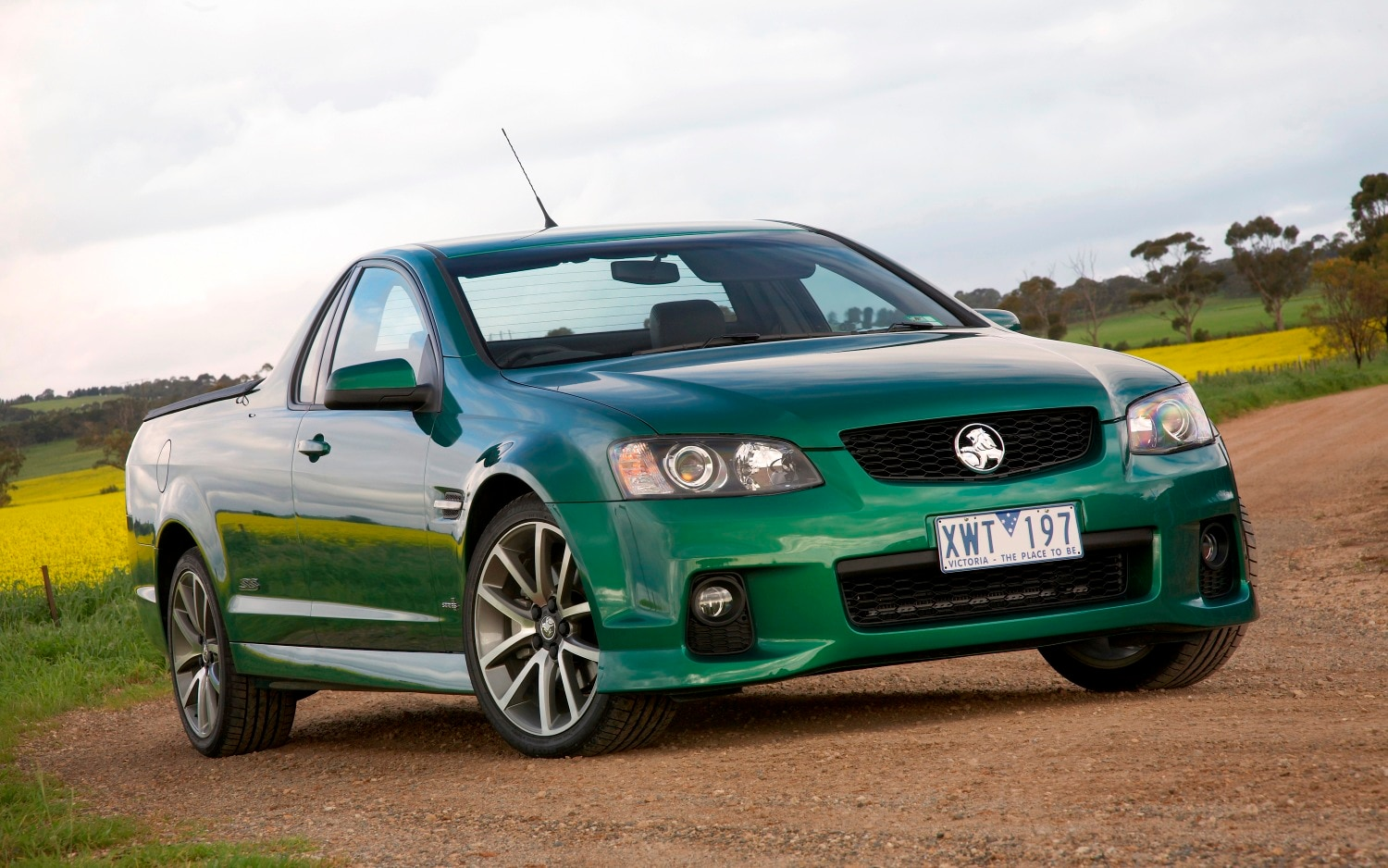 Holden Commodore Truck Front Three Quarter1