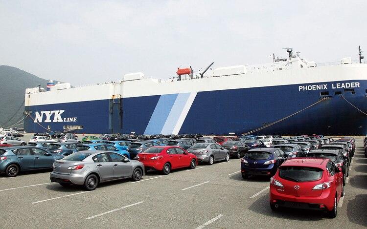 Mazda Export Lot1