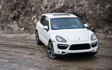 Porsche Cayenne Turbo Promo