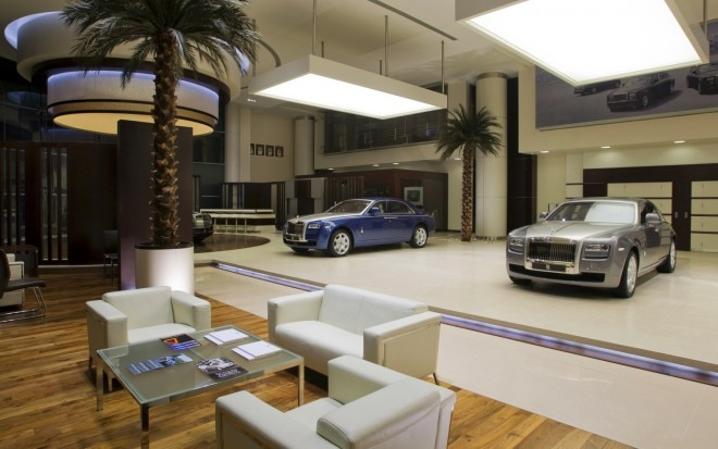 Rolls Royce Abu Dhabi Customer Lounge1 660x413