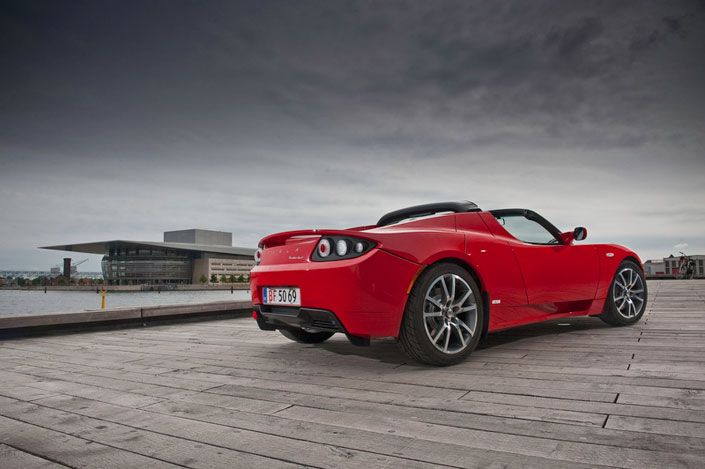 Tesla Roadster Rear11
