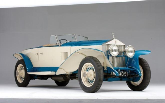 1926 Rolls Royce Phantom I Experimental1 660x413
