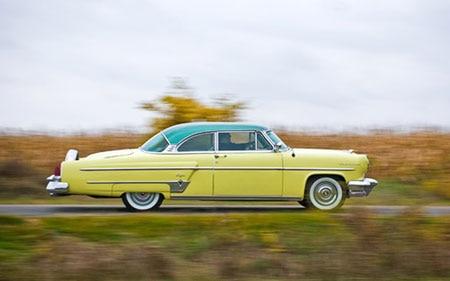 1952 1955 Lincoln Capri Promo