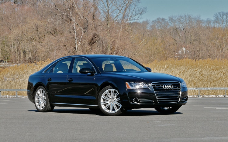 2011 Audi A8 Front Three Quarters2