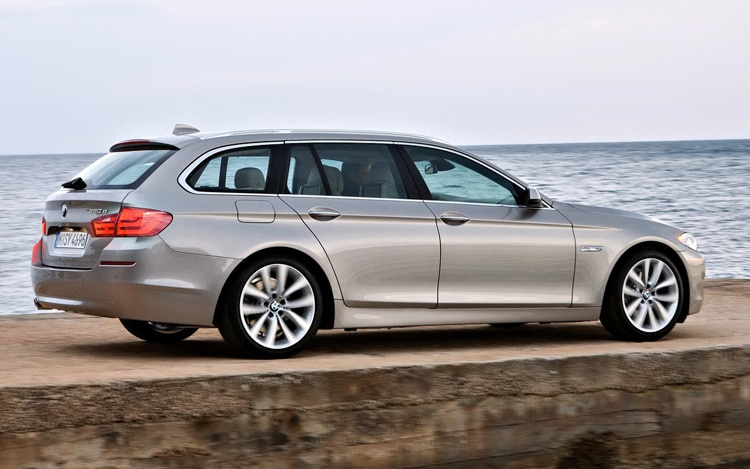 2011 Bmw 5 Series Touring Side View