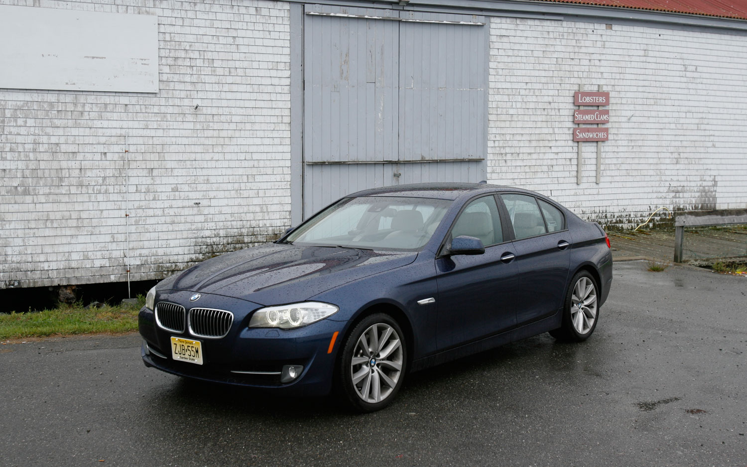 2011 Bmw 535i Front Left Side View2