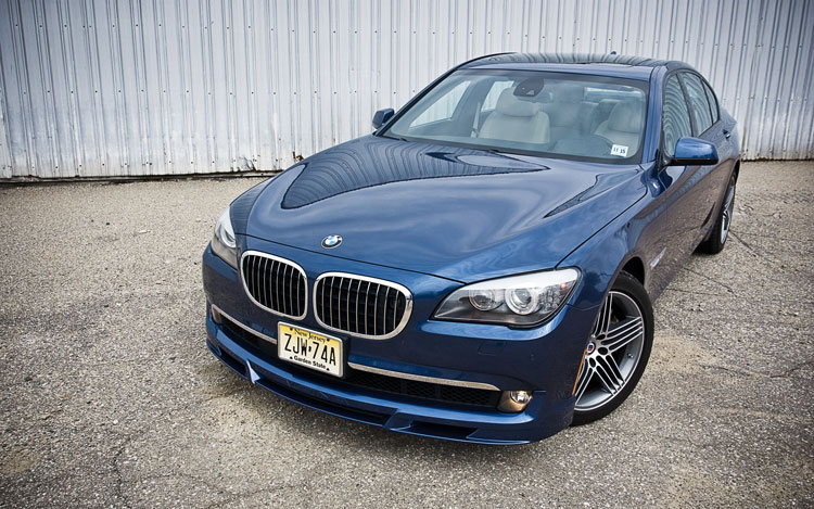 2011 Bmw Alpina B7 Front Left View3