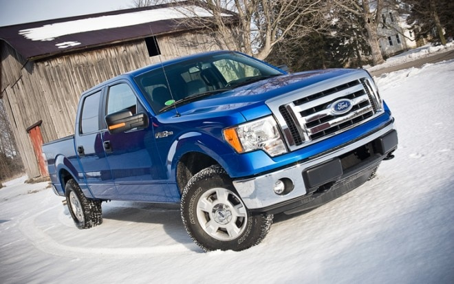 2011 Ford F 150 4x4 Supercrew Front Three Quarters3 660x413