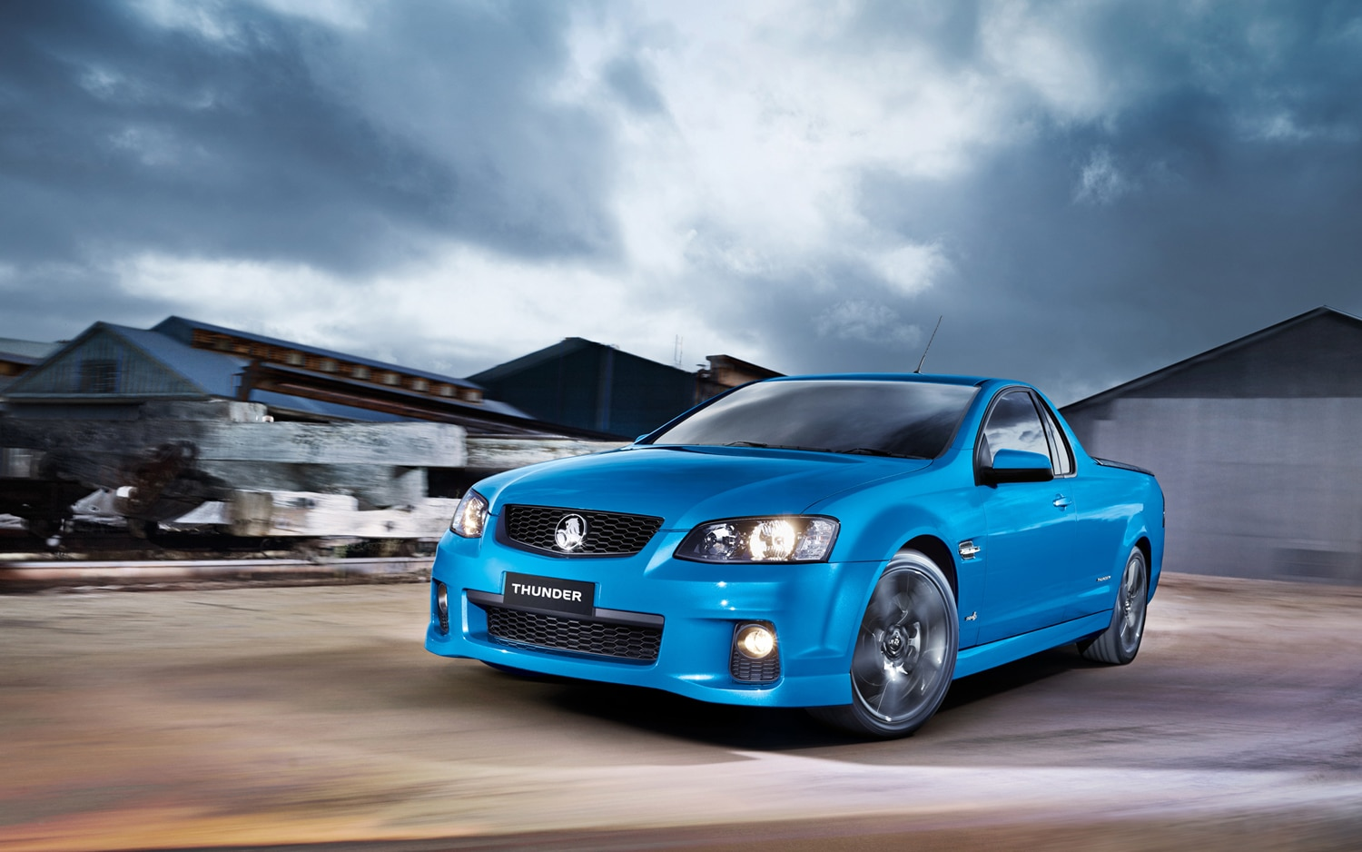 Thunder Down Under Holden Premieres Thunder Ute Special Edition