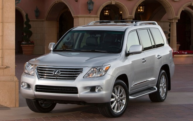 2011 Lexus Lx570 Front Left View Parked 660x413