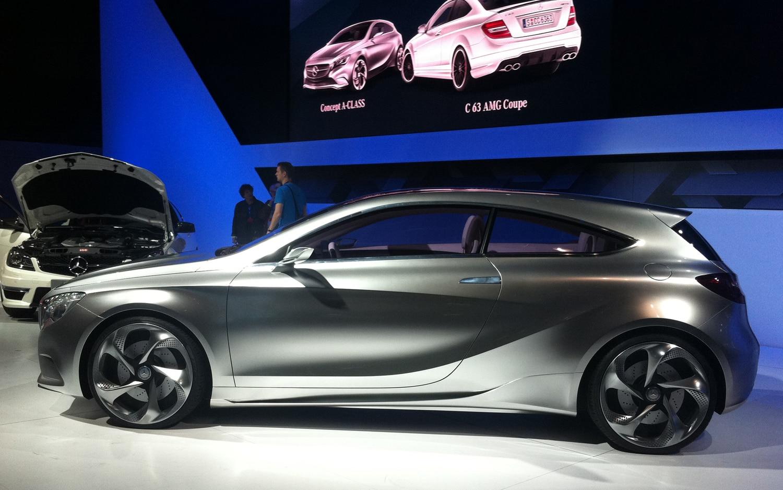 2011 Mercedes Benz Concept A Profile1