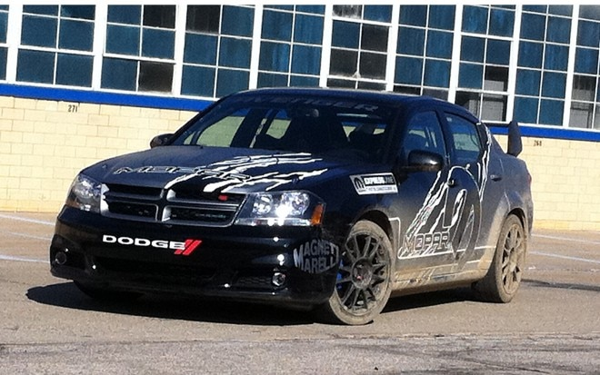 2011 Mopar Dodge Avenger Rally Car Front Three Quarter1 660x413