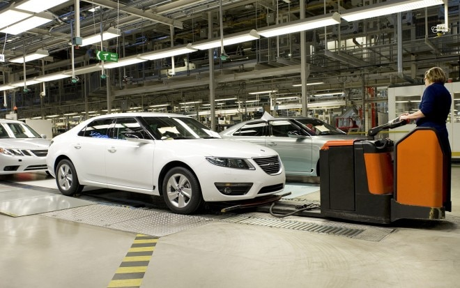 2011 Saab 9 5 Production Line Side View11 660x413