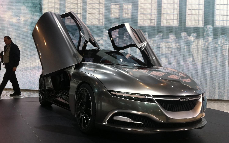 2011 Saab Phoenix Concept Front Three Quarter1