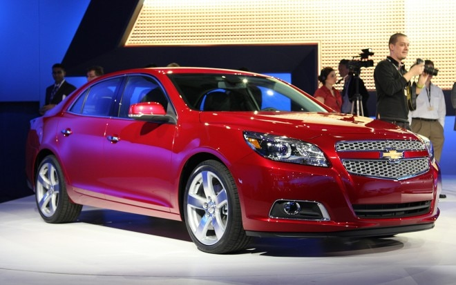 2012 Chevrolet Malibu Front Three Quarters View1 660x413