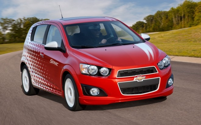 2012 Chevrolet Sonic Z Spec Right Front1 660x413