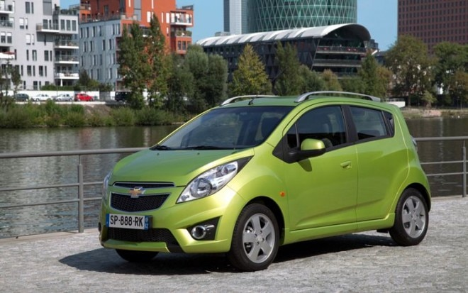 2012 Chevrolet Spark Front Three Quarters Static1 660x413