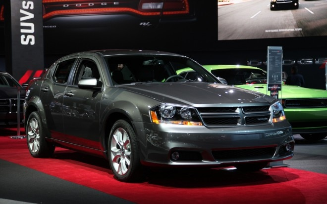 2012 Dodge Avenger RT Front Three Quarters1 660x413