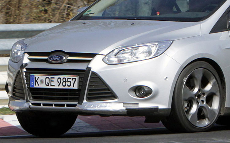 2012 Ford Focus St Spy Photo