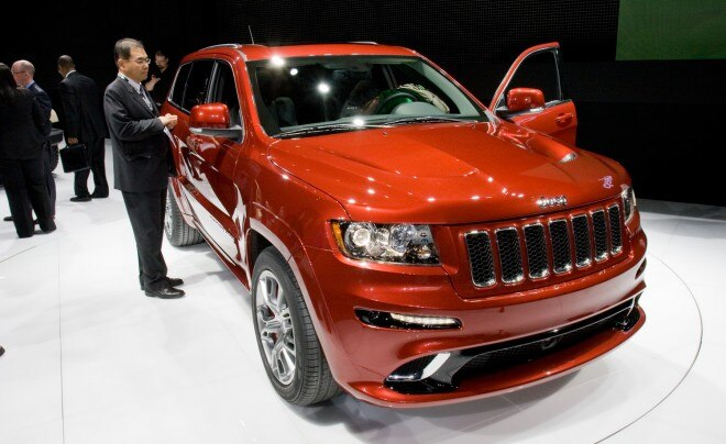 2012 Jeep Grand Cherokee Srt8 Front View 660x404