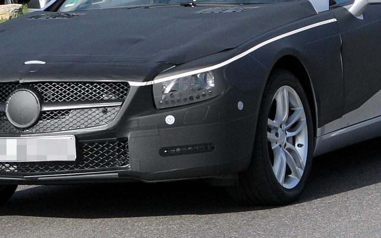 2012 Mercedes Benz Sl Spy Shot