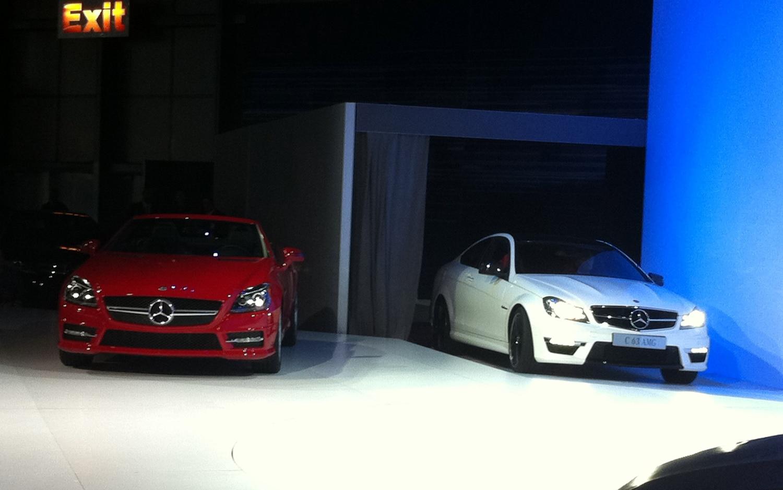 2012 Mercedes Benz Slk350 C63 Amg Coupe1