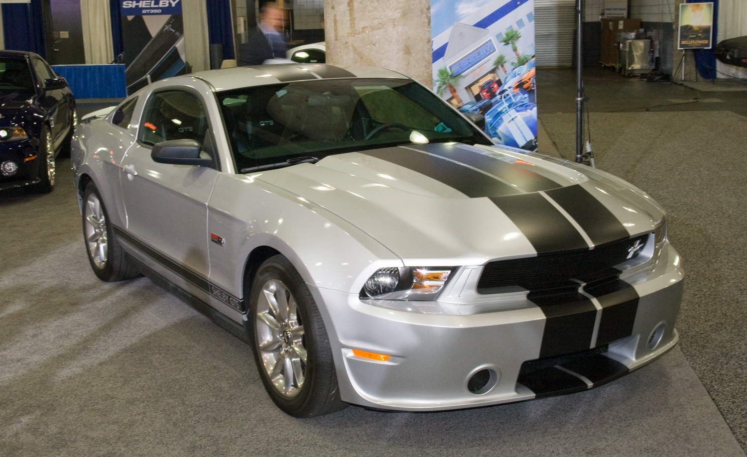 2012 Shelby Gts Mustang Front View1