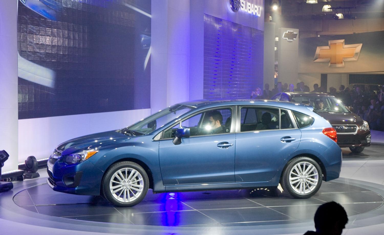2012 Subaru Impreza Reveal Live1
