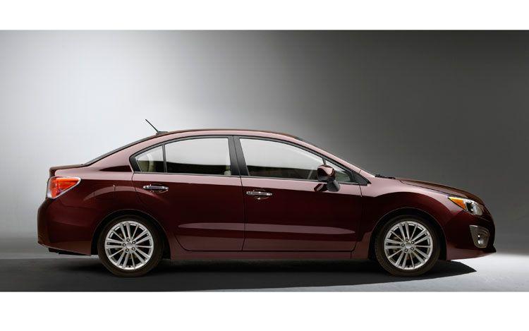 2012 Subaru Impreza Side View