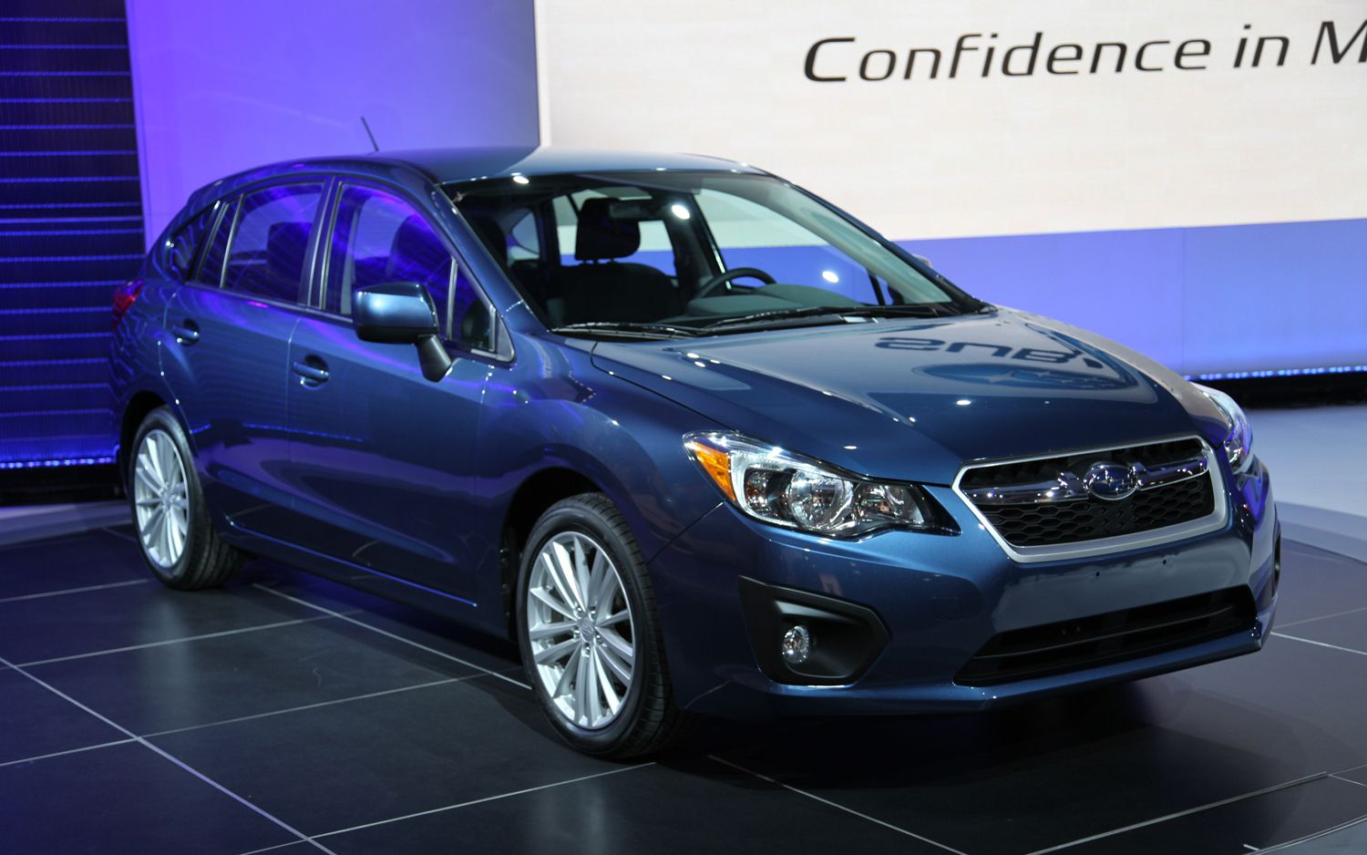 2012 Subaru Impreza Wagon Front Three Quarters