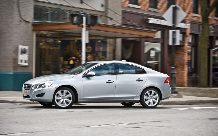 2012 Volvo S60 T6 Awd Left Side Full View