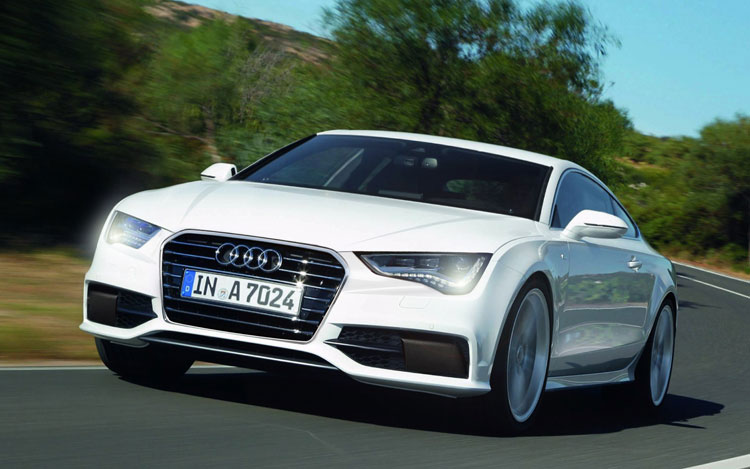 2014 Audi A9 Front View