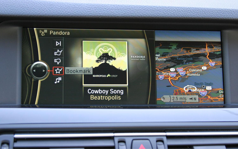 BMW Pandora App 21