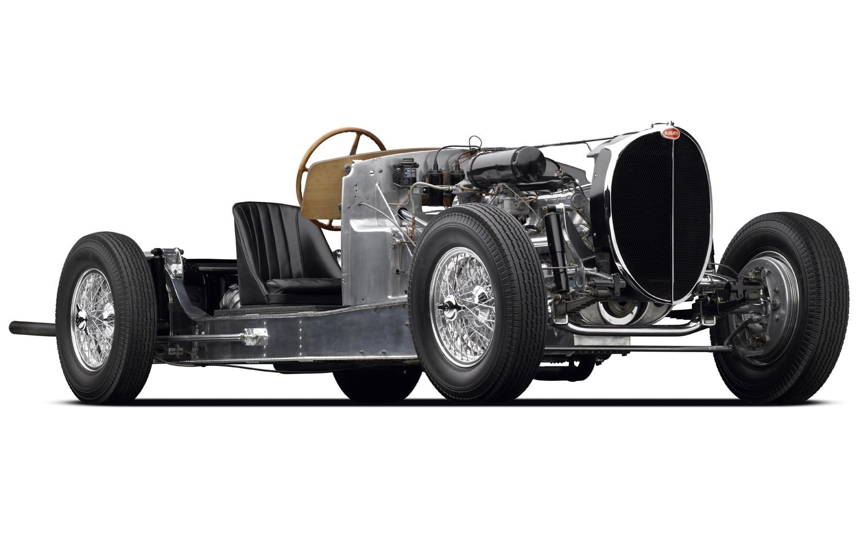 Bugatti Type 64 Chassis Front Three Quarter1