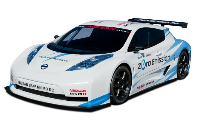 Nissan Leaf Nismo RC Front View 660x413