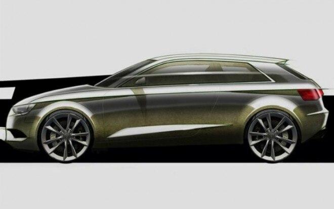 Audi A3 Hatchback Profile Sketch1 660x413
