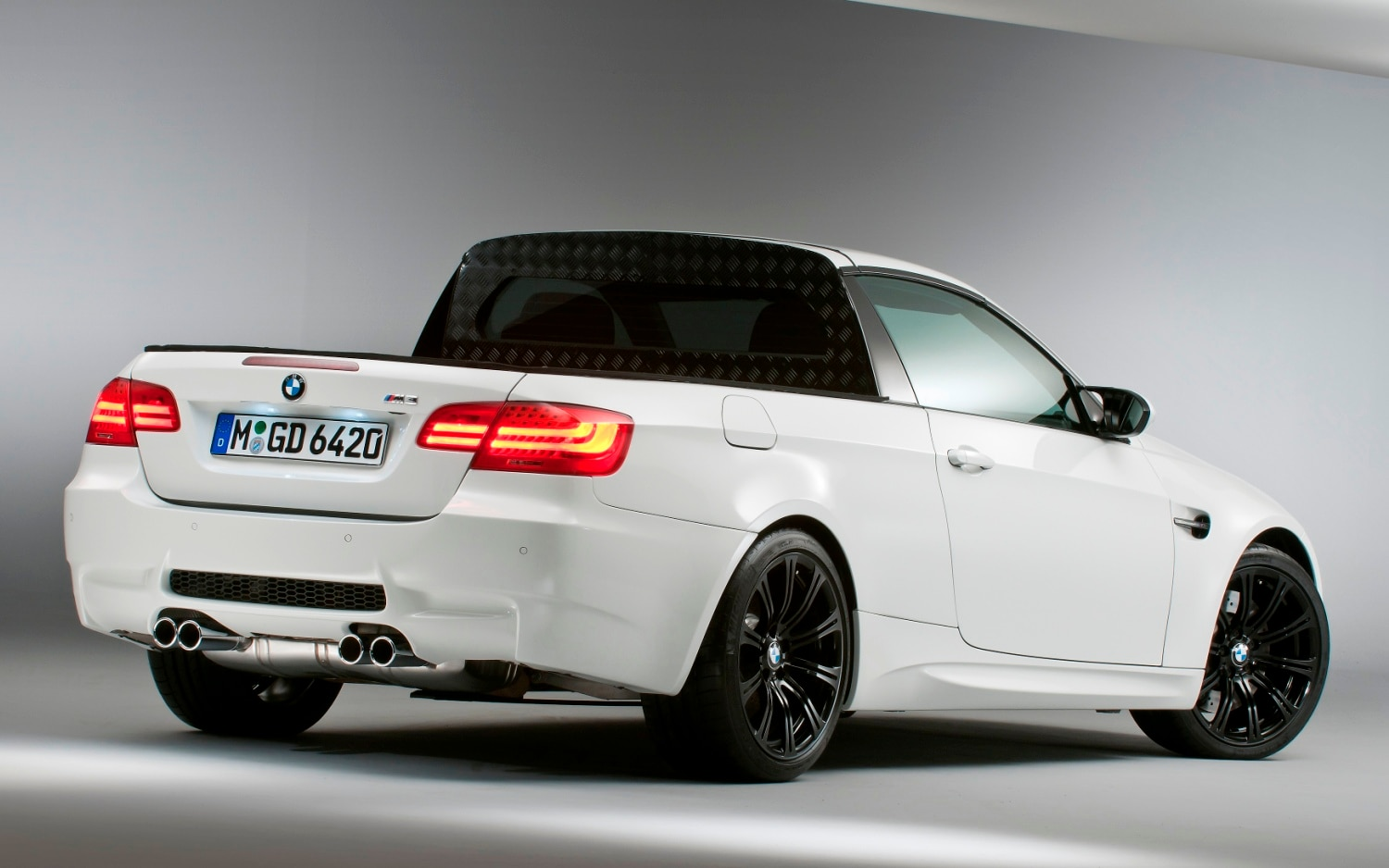April Fools Day Roundup BMW Officially Reveals M3 Pickup