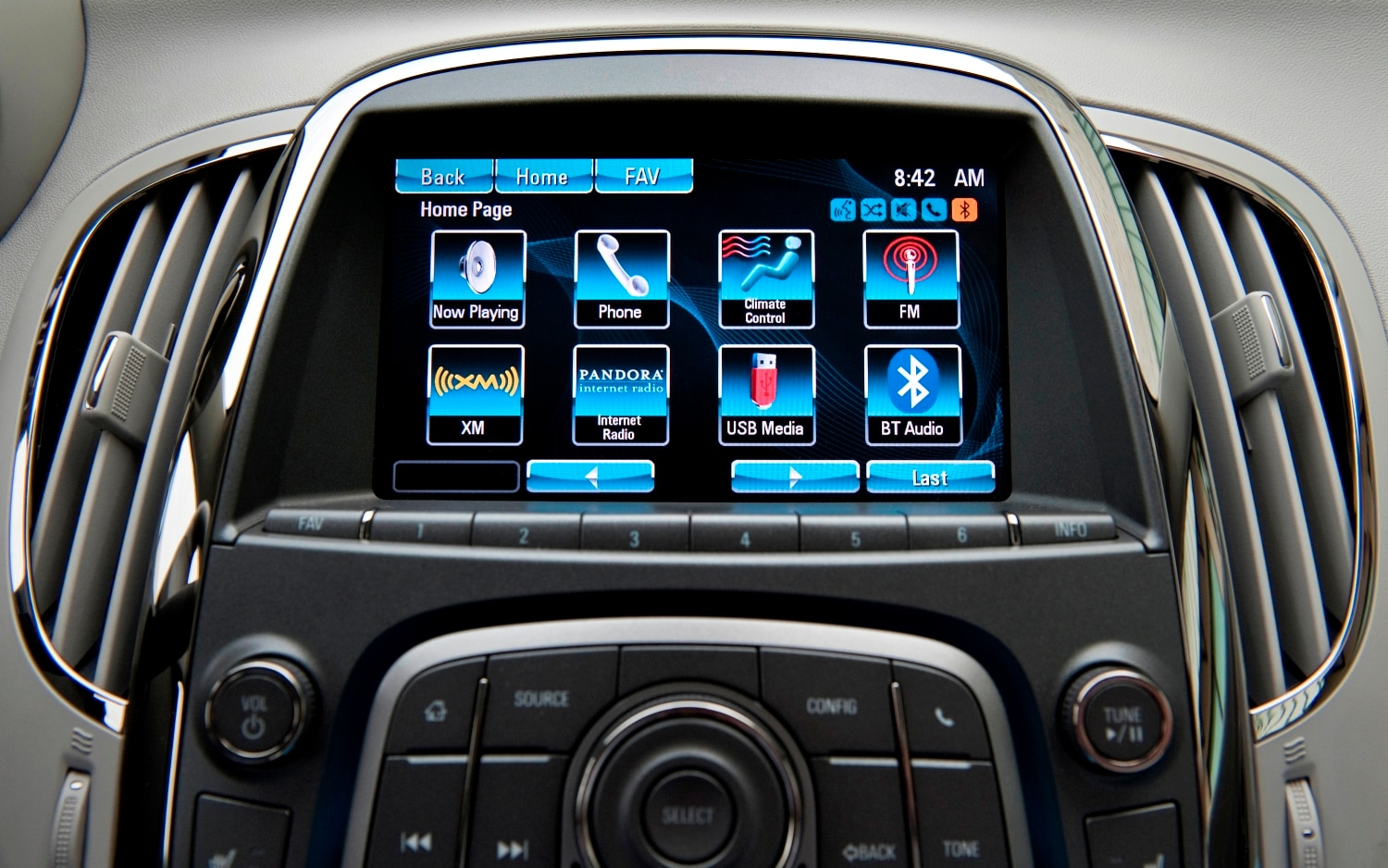 Buick Intellilink Main Menu1