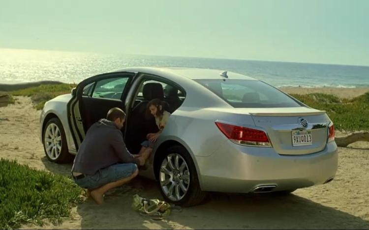 buick lacrosse at the beach. Cars Review. Best American Auto & Cars Review