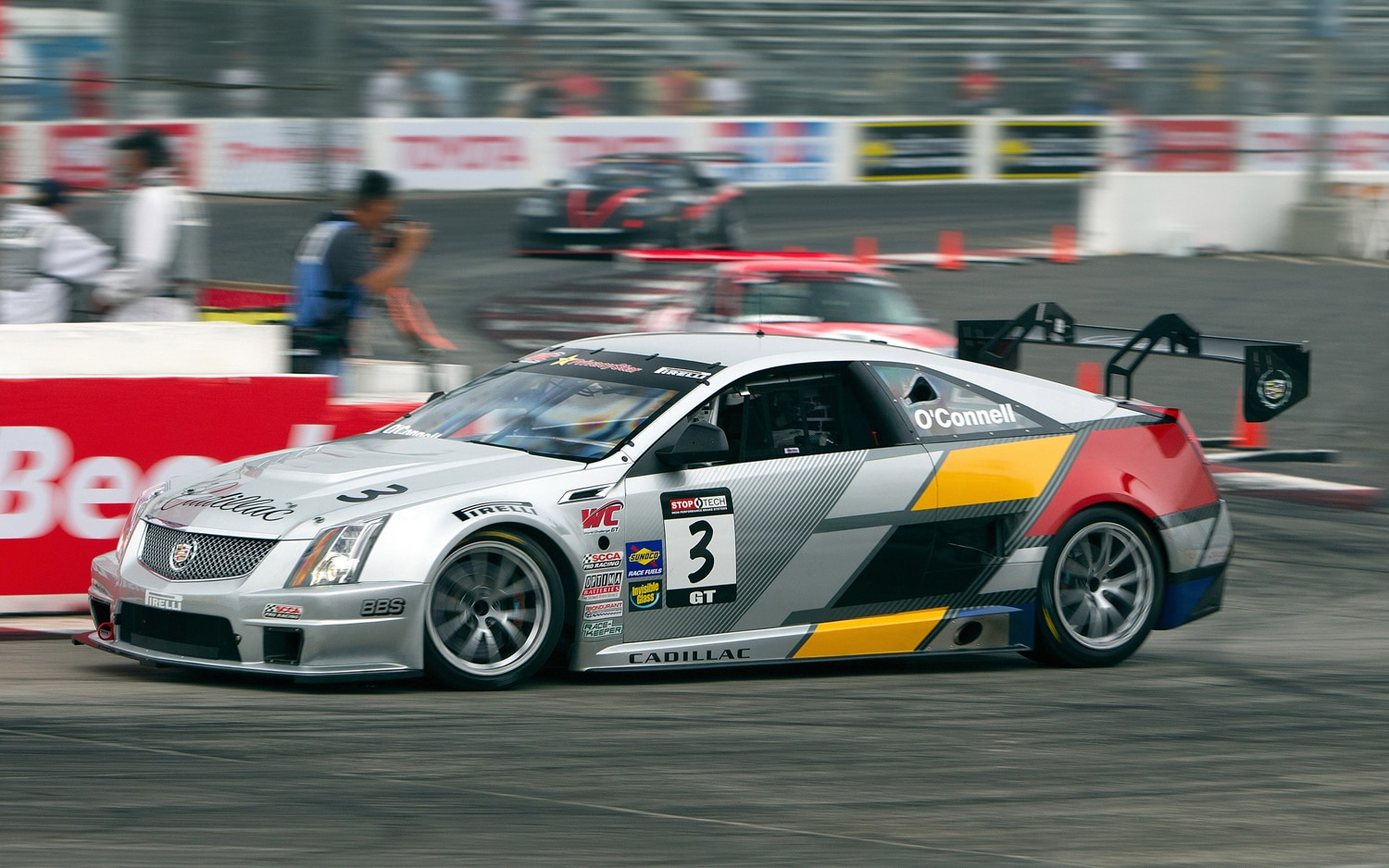 Cadillac Cts V Race Car Long Beach Profile2