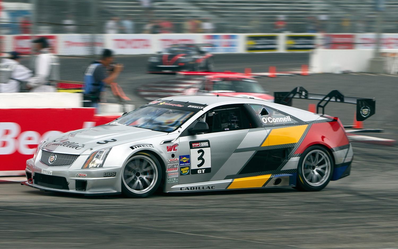 Cadillac Cts V Race Car Long Beach Profile2